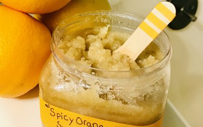 DIY Spicy Orange Sugar Scrub